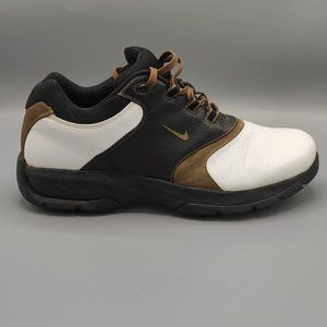 Nike SP3 Golf Shoes White Brown